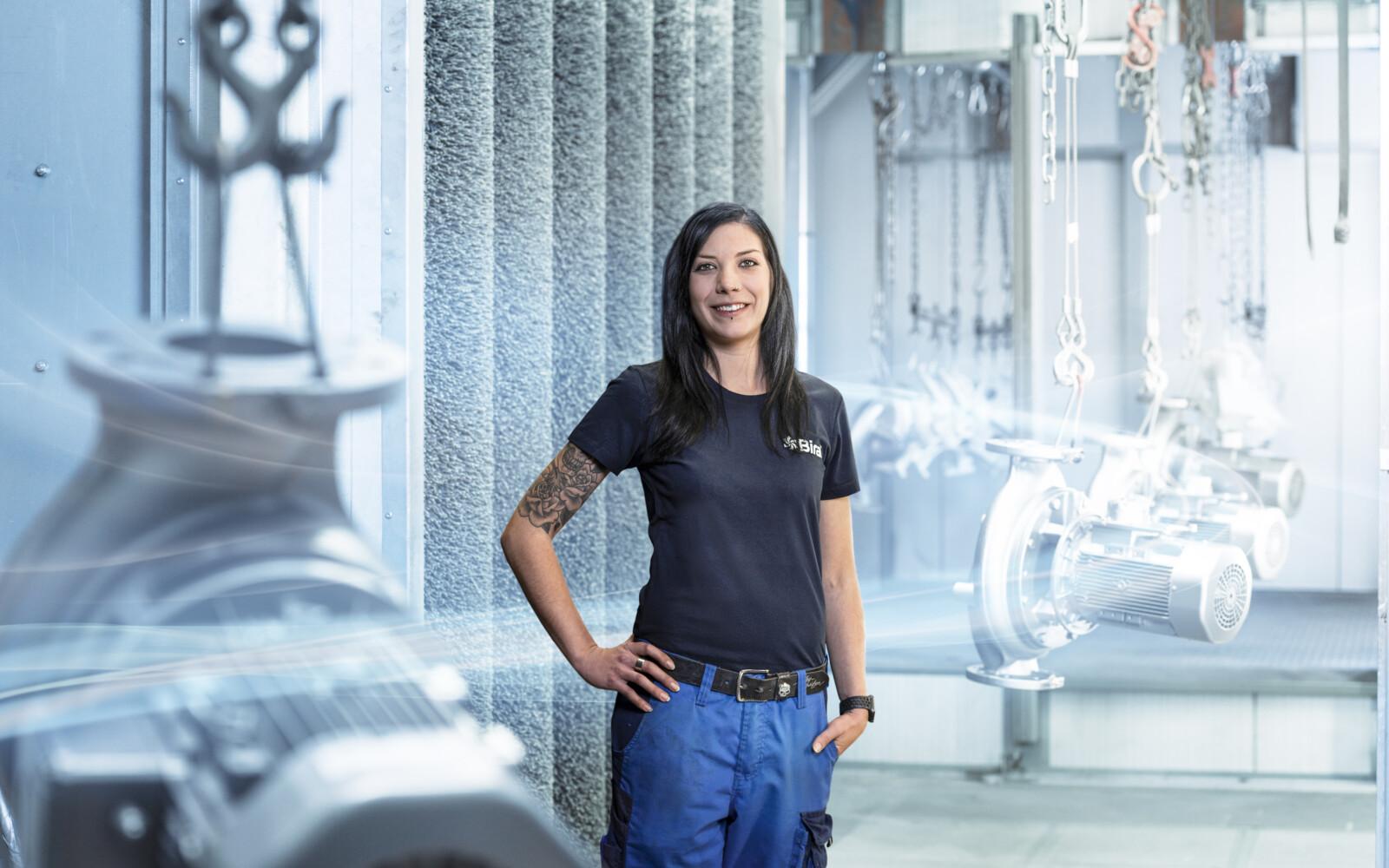 Stefanie Wetli, collaboratrice settore riparazioni